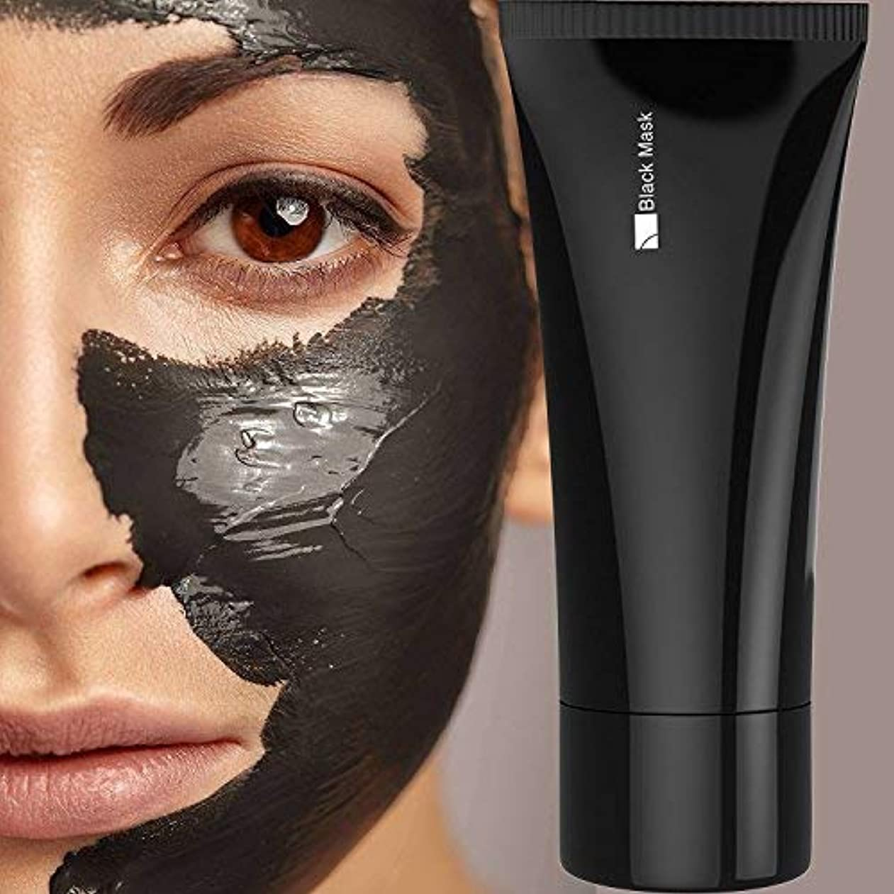 シンカン宙返りトーナメントFace apeel Blackhead Remover Cleaner Purifying Deep Cleansing Acne Black Mud Face Mask Peel-off