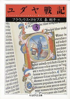 ユダヤ戦記〈3〉 (ちくま学芸文庫)の詳細を見る