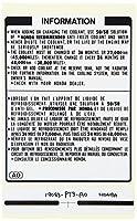 Genuine Honda 19043-PT3-A00 Coolant Information Label [並行輸入品]