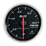 BLITZ(ブリッツ) RACING METER SD(レーシングメーターSD) 丸型アナログメーター φ60 PRESS METER 19564