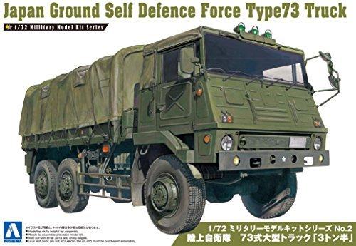 1/72 ミリタリーモデルキットシリーズNo.02陸上自衛隊 73式大型トラック  3トン半