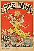 サイクルPinedeヴィンテージポスターフランスC。1897 24 x 36 Giclee Print LANT-63339-24x36