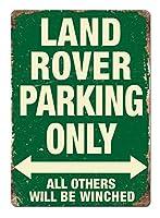 Lad Roer Parking Green 注意看板メタル安全標識注意マー表示パネル金属板のブリキ看板情報サイントイレ公共場所駐車ペット誕生日新年クリスマスパーティーギフト