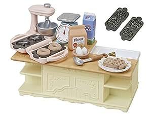 シルバニアファミリー 家具 アイランドキッチン