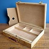 "Alvin&Co HWB148 3/14"" Wood Sketch Box Large"