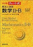 解法と演習数学II+B (チャート式)