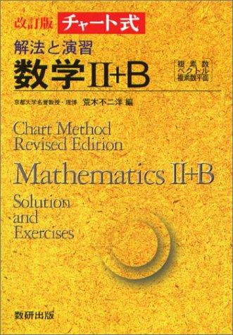 解法と演習数学II+B (チャート式)の詳細を見る