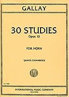 GALLAY - Estudios (30) Op.13 para Trompa (Chambers)