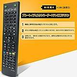 allimity RMT-B006J(代用) fit forソニー SONY ブルーレイディスクレコーダー BDZ-RS15 BDZ-RX35 BDZ-RX55 BDZ-RX105 画像