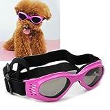 Amazon.co.jpNamsan Stylish And Fun Pet/Dog Puppy UV Goggles Sunglasses Waterproof Protection Sun Glasses For Dog -Pink by Namsan