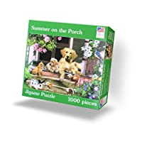 Summer on the Porch 1000 Piece Puzzle