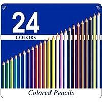缶入り色鉛筆 24色