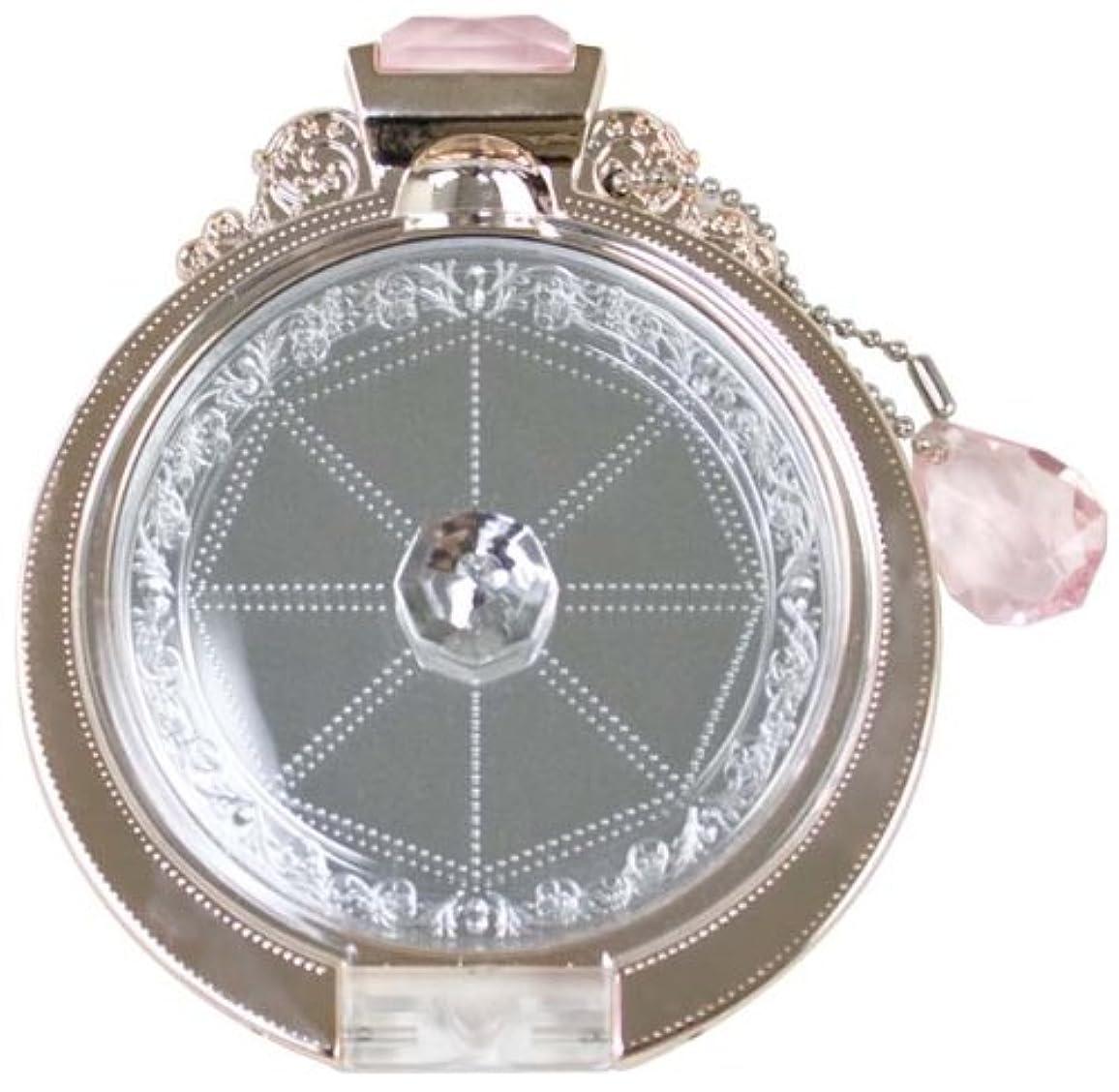 一晩防腐剤担保Diamond Ring compactmirror(PINK GOLD)YRG-800