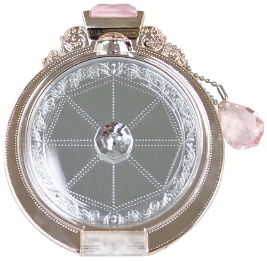 転倒レルム責任Diamond Ring compactmirror(PINK GOLD)YRG-800