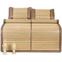 Nunubee ござ 竹製シーツ 両用シーツ 置き畳 自宅 オフィス クール寝具 折りたためるシート ひんやり感 カーペット 爽やか 涼感効果 席 寝ござ