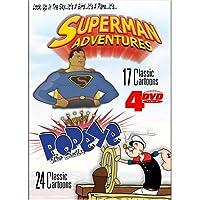 Superman /Popeye (4-DVD Pack)