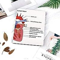 カスタム IPad 2 3 4 ケース オートスリープ機能心の医学的構造人体解剖学臓器静脈循環器学