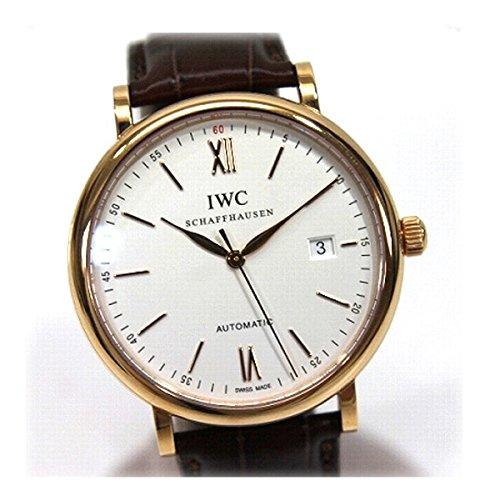 IWC(アイダブリューシー) ポートフィノ K18PG無垢 自動巻 メンズ腕時計 356504 KK [中古]