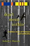 don't mean nothin' (English Edition)