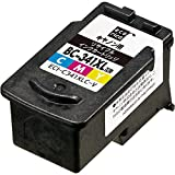 エコリカ キャノン(Canon)対応 リサイクル インクカートリッジ 3色カラー 大容量タイプ BC-341XL ECI-C341XLC-V