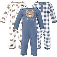 Hudson Baby Baby Coveralls 3pk
