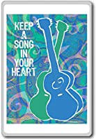 Keep A Song In Your Heart - Motivational Quotes Fridge Magnet - ?????????