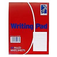 Duke Writingメモ帳–40シート–ルールド–70gsmホワイト用紙–サイズ6.9X 5.3–byオフィススタイル