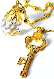 MilicaBooks 幻の銀水晶&時空の鍵 ネックレス ペンダント 美少女戦士 セーラームーン アクセサリー