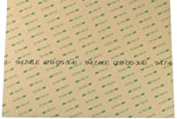 """シートの3M 9474le 300lse super-strong両面粘着/接着剤転送テープ、さまざまなサイズと数量割引、携帯電話およびタブレットAttachingデジタイザに最適です。[ 3m9474-all ] 12"""" x 12"""" 3M9474-12x12-10pk"""