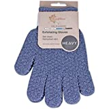 1 Pair EvridWear Strong Exfoliating Hydro Body Scrub Gloves. Dead Skin Cell Remover. Bath and Shower Gloves for deep cleansin