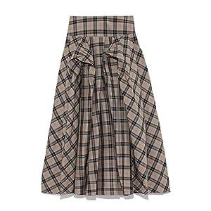 [フレイ アイディー] タフタロングスカート FWFS185515 レディース Check 日本 1 (日本サイズ9 号相当)