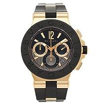[ブルガリ] 腕時計 メンズ BVLGARI DGP42BGVDCH ブラック ローズゴールド [並行輸入品]