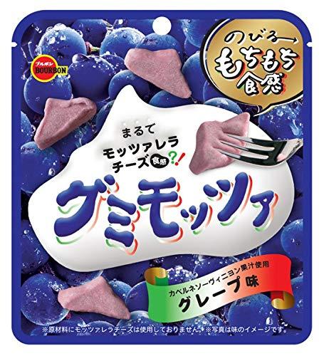 ブルボン グミモッツァグレープ味 40g ×10袋