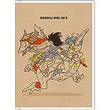 サンスター文具 ドラゴンボール 手帳 2019年 A6 マンスリー 恐竜 S2947943 (2018年 10月始まり)