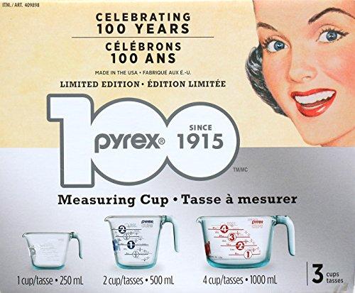 pyrex 3カップ 耐熱ガラス製 計量カップ LIMITED EDITION
