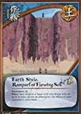 Naruto Card - Earth Style: Rampart of Flowing Soil 588 - Broken Promise - Common - 1st Edition