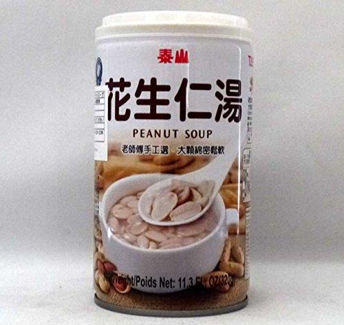泰山 花生仁湯/缶【ピーナッツスープ】台湾産落花生スープ/缶詰