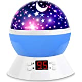 MOKOQI Star Projector Night Lights for Kids with Timer, Gifts for 1-14 Year Old Girl and Boy, Room Lights for Kids Glow in Th