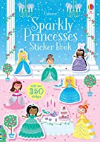 Sparkly Princesses Sticker Book (Sparkly Sticker Books)
