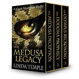 The Medusa Legacy Box Set: A Greek Mythology thriller by [Temple, Linda]