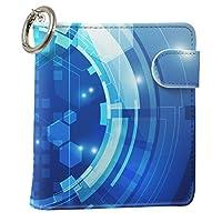 スマコレ IQOS専用 レザーケース 従来型/新型 2.4PLUS 専用 ケース カバー 合皮 カバー 収納 青 機械 柄 012762