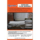 Sandless Flood Barrier - High Capacity 9 Feet Length 2-Pack