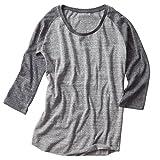 (ダルク)DALUC Authenticトライブレンド3/4スリーブTシャツ4.3oz 【XS~XLサイズ/3colors】