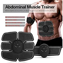 Muscle Toner ABS Stimulator Wrist trimmer Ab Belt Abdominal ABS trainer body toning belt weight loss Core training machine Home/Office Workout Equipment Abdomen/Arm/Thigh/Waist Men&Women