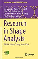 Research in Shape Analysis: WiSH2, Sirince, Turkey, June 2016 (Association for Women in Mathematics Series)