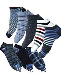 [ハルサク] HARUSAKU 6足 くるぶし メンズ スニーカーソックス ショート ソックス 靴下 セット 23~29 cm