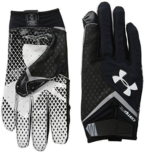 Under ArmourメンズNitro Football Gloves ブラック