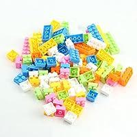 Upupo 144ピース プラスチック パズル 教育 組み立てブロック ブリック おもちゃ 子供用 ギフト