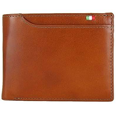 (ミラグロ) Milagro イタリアンレザー BOX小銭入れ 21ポケット 二つ折り財布 テラローザシリーズ [BESPOKE ビスポーク] CAS2108