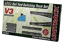 Kato USA Model Train Products V3 UNITRACK Rail Yard Switching Set [並行輸入品]